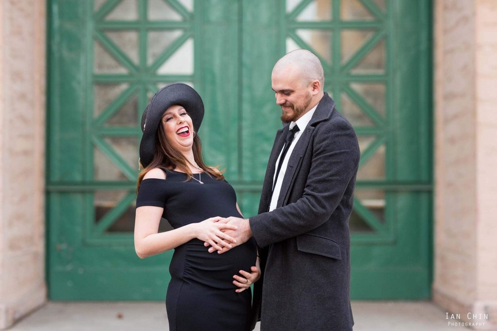 Palace of Fine Arts Maternity Shoot