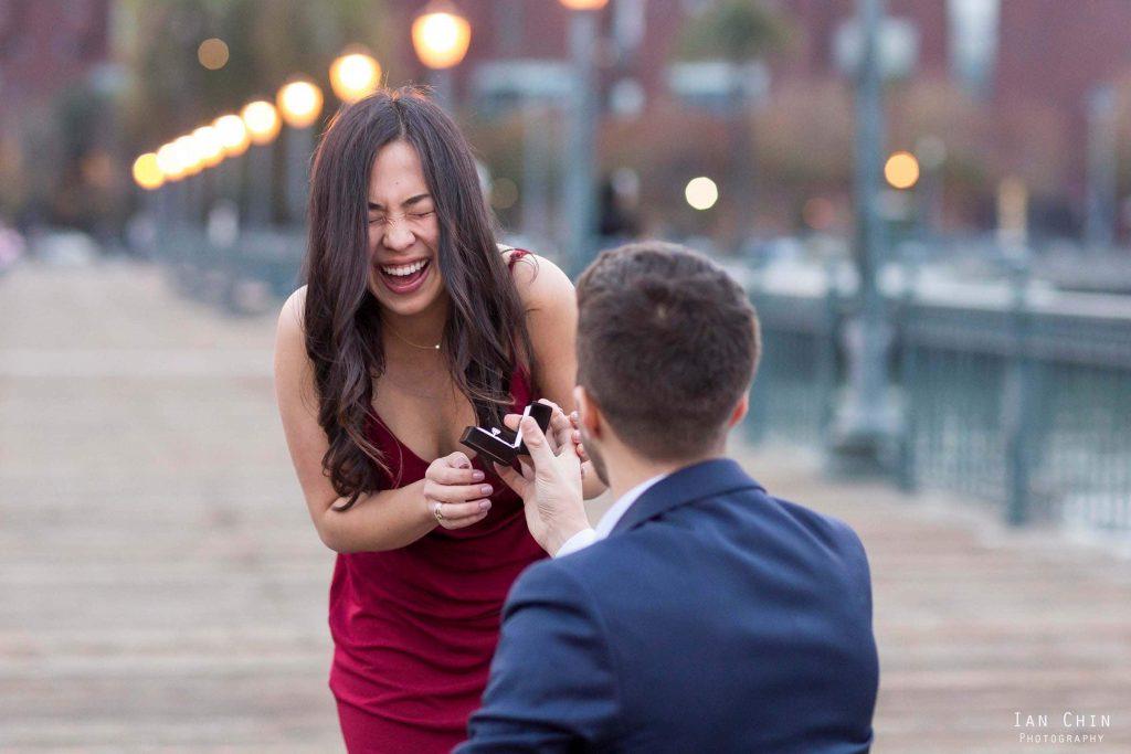 pier 7 marriage proposal