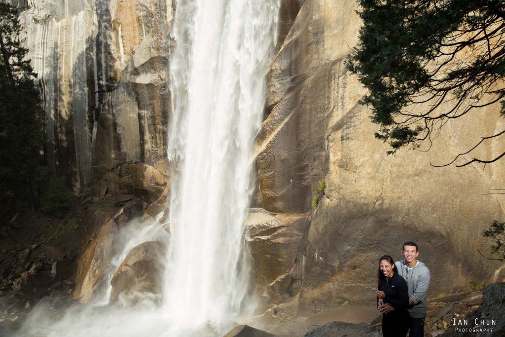 Vernal Falls Yosemite Marriage Proposal