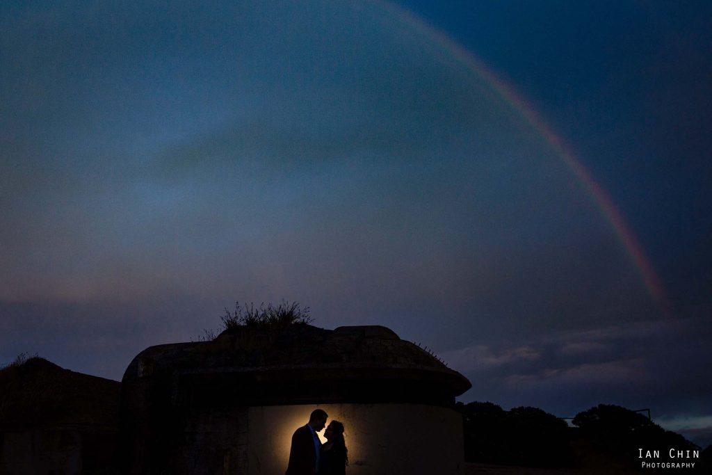 hawk hill engagement shoot rainbow