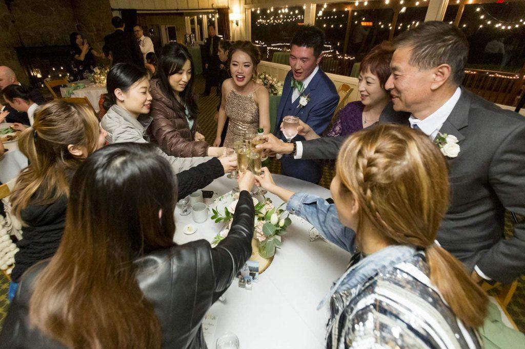 the mountain terrace wedding reception