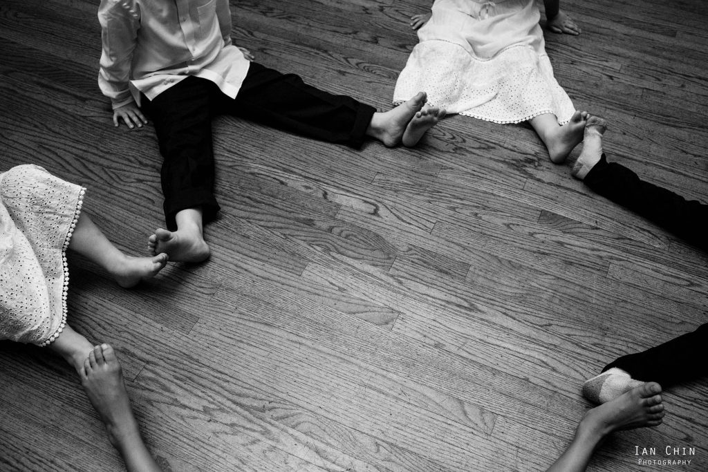 feet circle