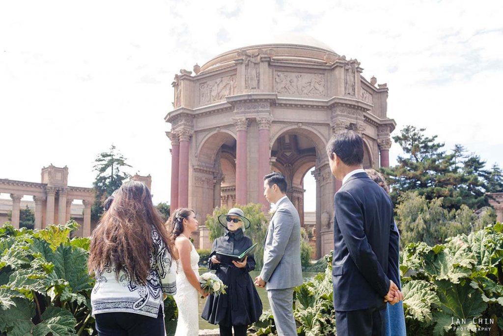 Palace of Fine Arts Wedding Photos