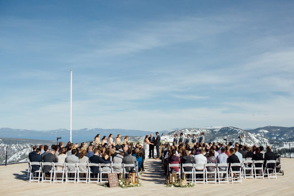 squaw valley high camp wedding